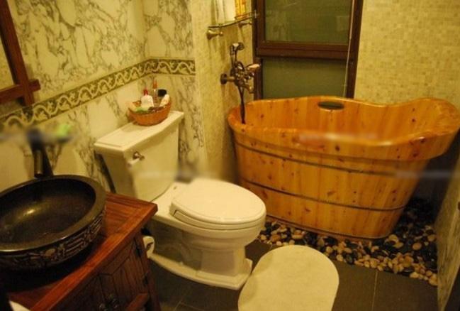 两室一厅中式风格卫生间
