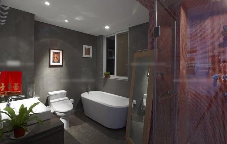 两室两厅简约风格卫生间