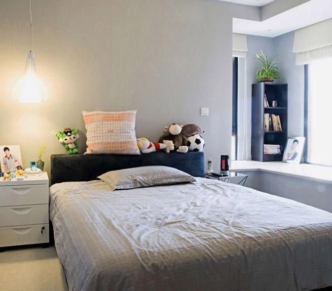 一居室现代简约儿童房