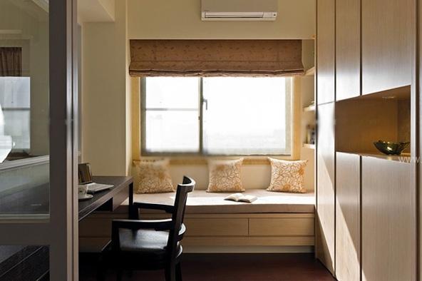 飘窗窗帘图片 欧式飘窗窗帘效果图