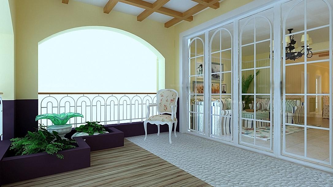 客厅隔断玻璃移动门 装修效果图