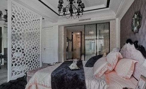 两居室欧式风格卧室隔断