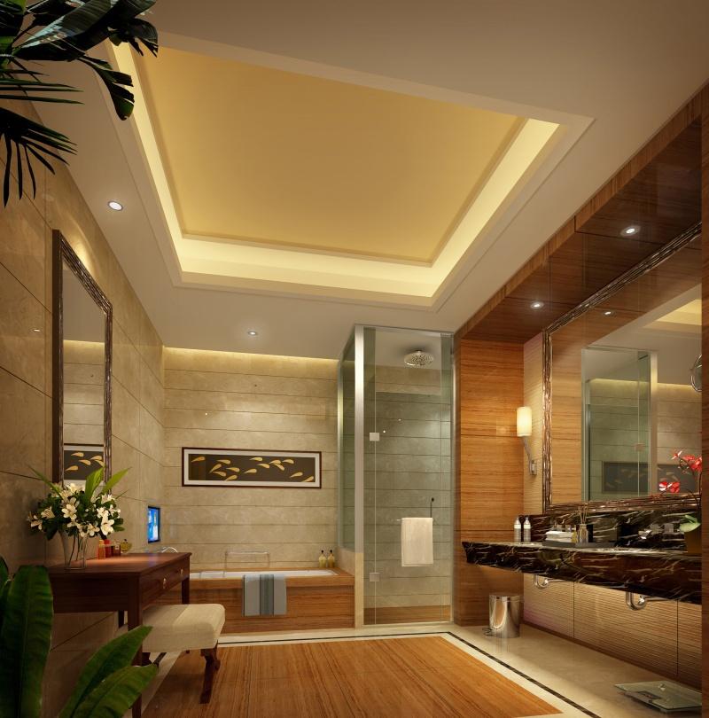 现代宾馆标准间装修