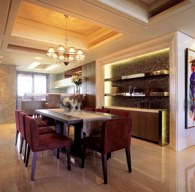 一居室新古典餐厅