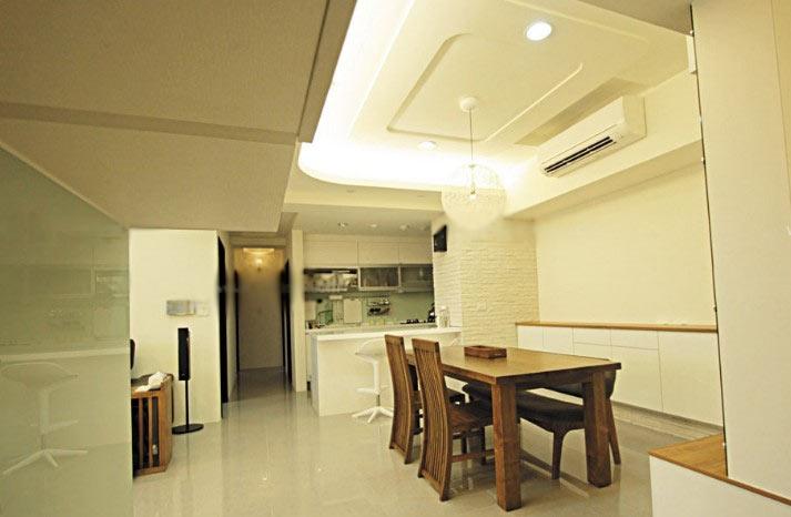 一居室简约风格餐厅