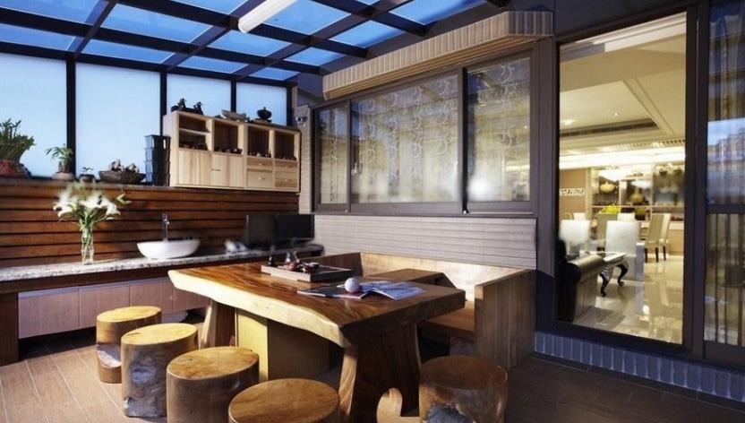 别墅古典风格阳台