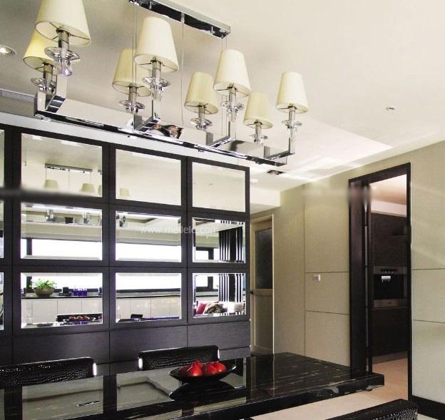 两室两厅混搭风格餐厅
