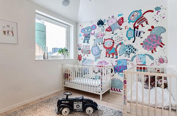 跃层现代风格儿童房