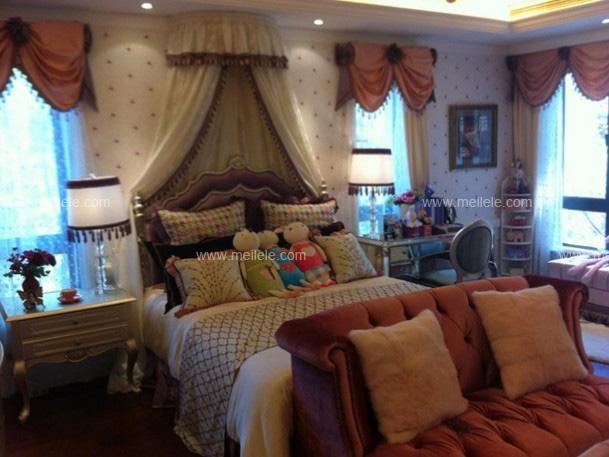 三室一厅新古典儿童房