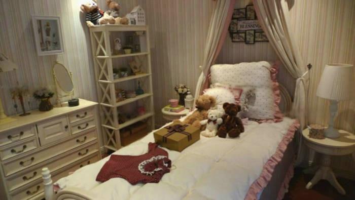 两室一厅乡村风格儿童房