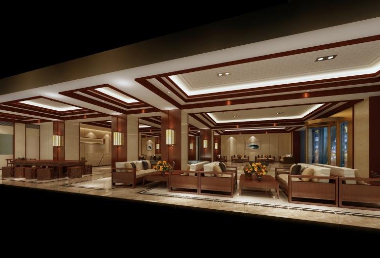 奢华酒店装修效果图