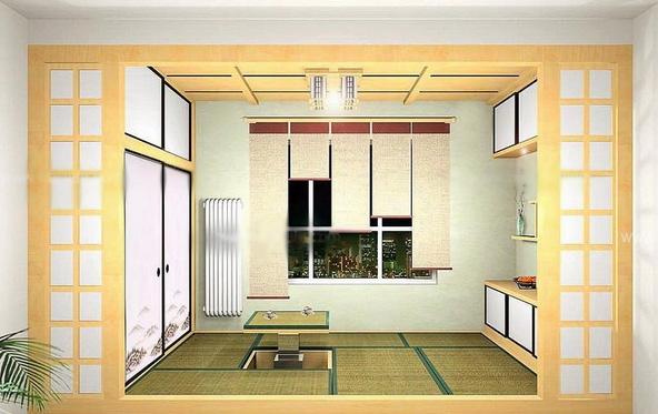 一居室日式风格客厅榻榻米