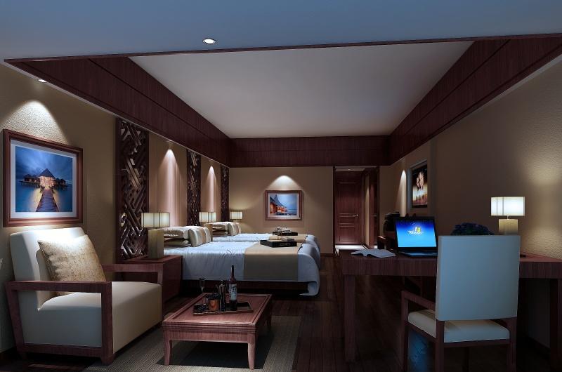 酒店客房装修效果图