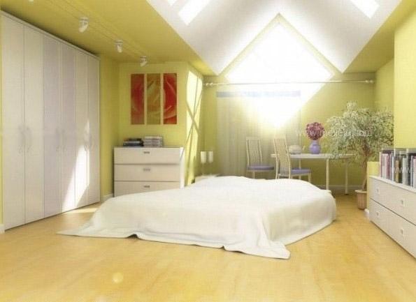 三室两厅时尚风格卧室榻榻米