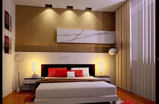 三室两厅现代风格卧室榻榻米