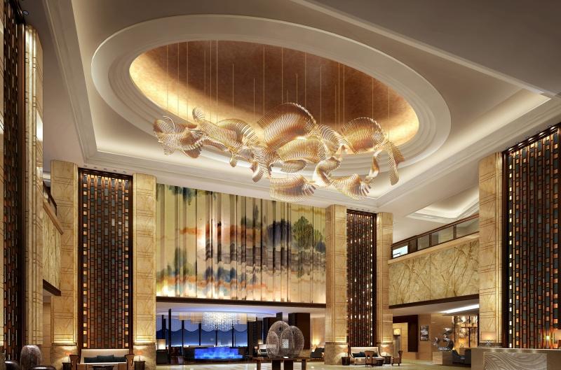 现代酒店装修效果图