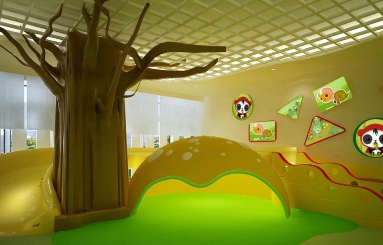 最新幼儿园装修效果图