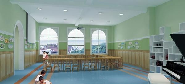 最新幼儿园室内装饰装修效果图