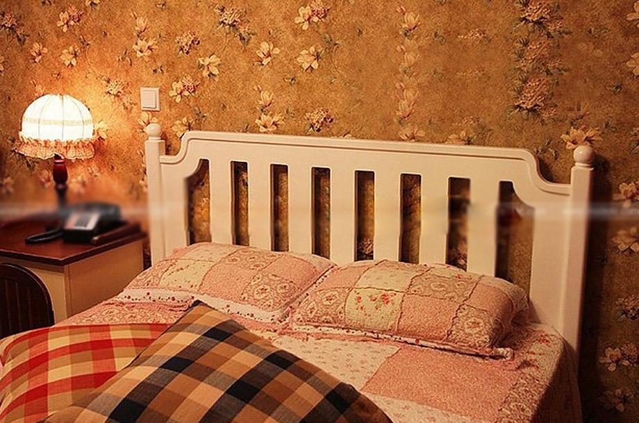 一居室田园风格卧室