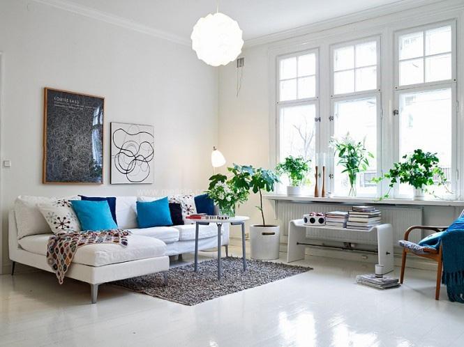 四居室北欧风格客厅图片