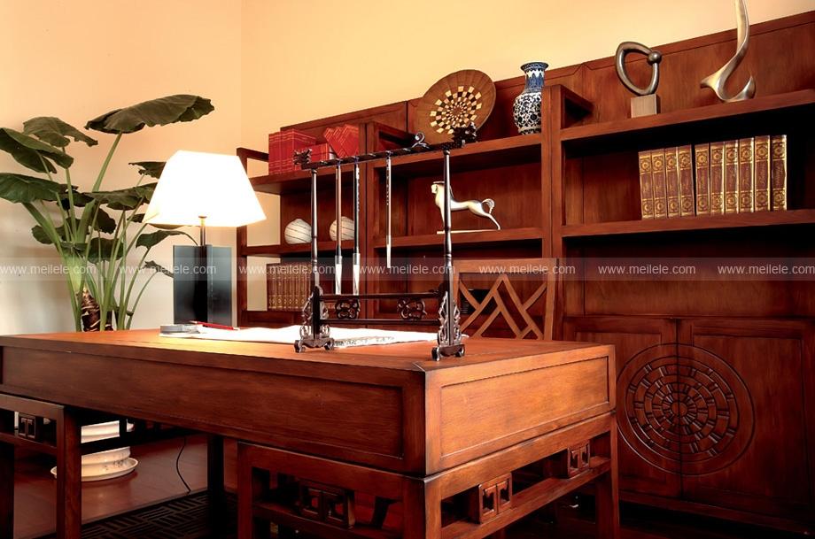 复式楼古典风格书房