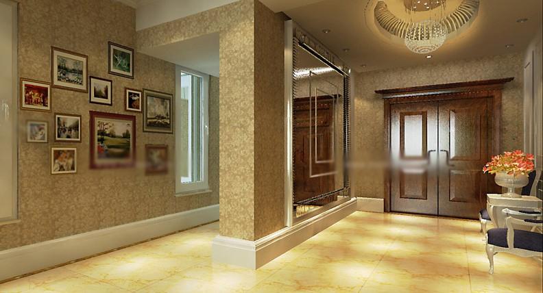 两室一厅欧式风格玄关