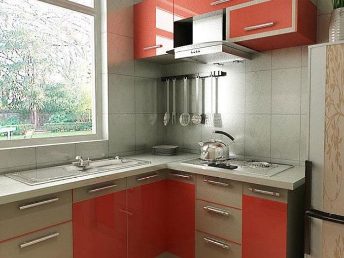 两居室乡村风格厨房
