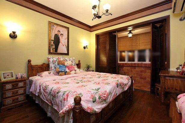 小户型乡村风格卧室