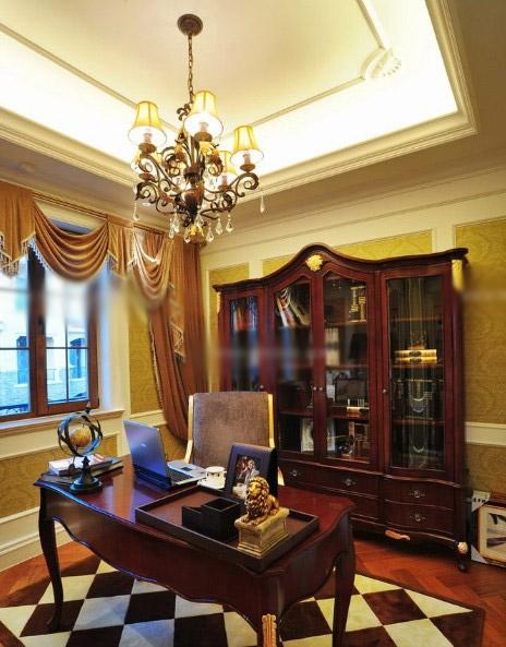 别墅古典风格书房