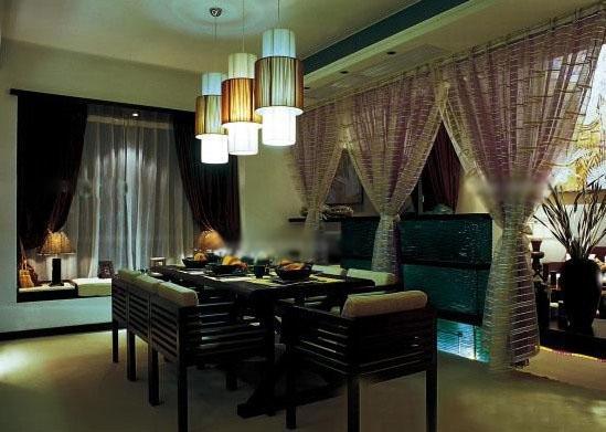 大户型东南亚风格餐厅