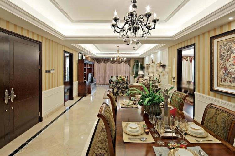 大户型美式风格餐厅