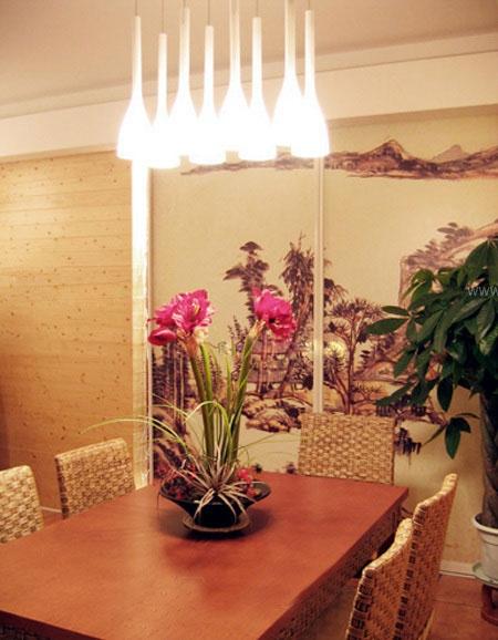 两居室东南亚风格餐厅