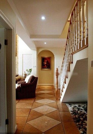 别墅美式风格过道图片