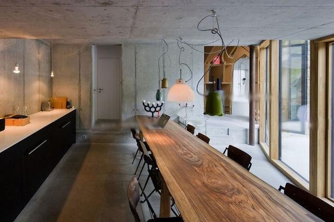 白领公寓混搭风格餐厅