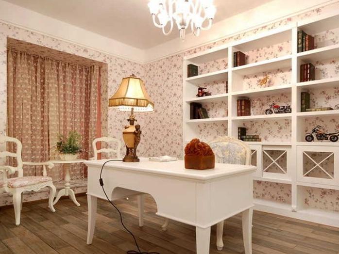 两室两厅古典风格书房