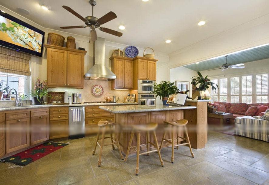 别墅古典风格厨房