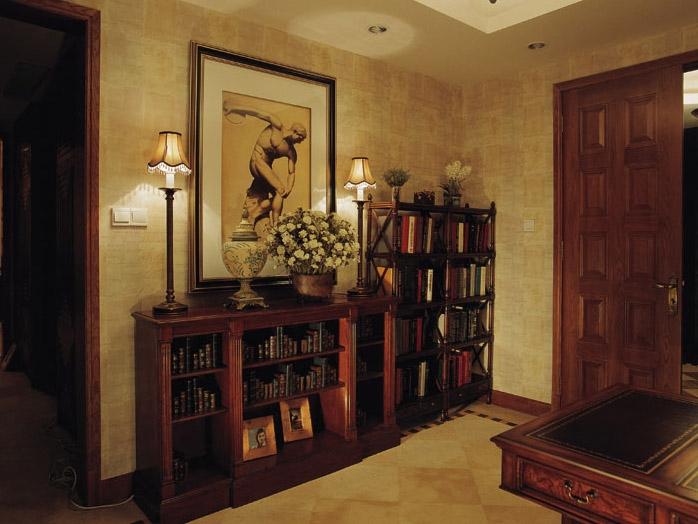 三室两厅古典风格书房