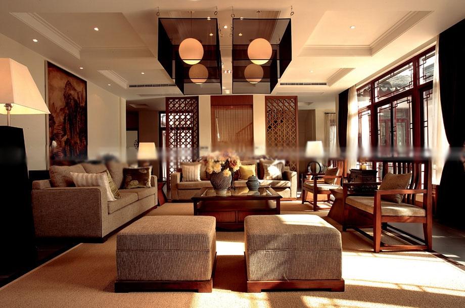 复式楼古典风格客厅
