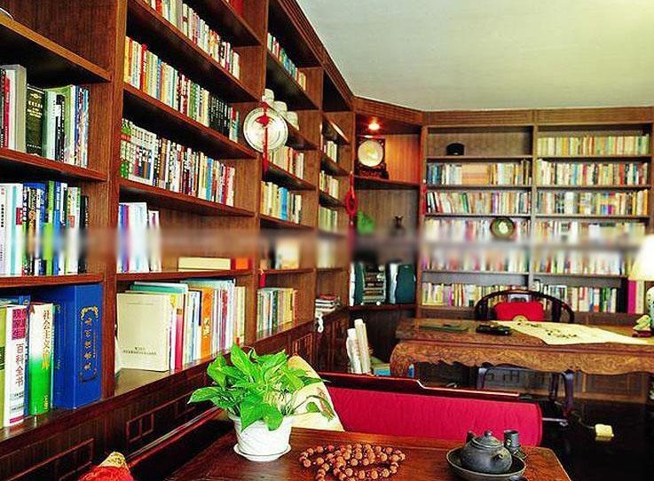 别墅混搭风格书房