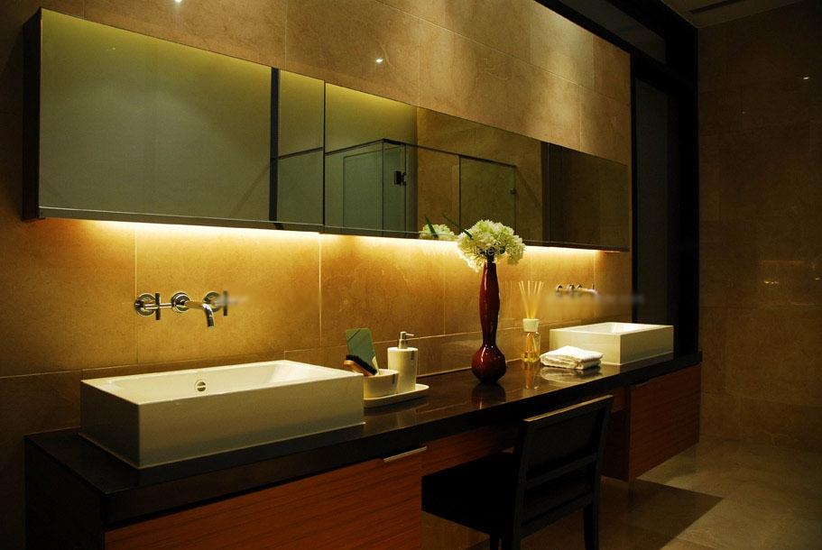 别墅美式风格卫生间