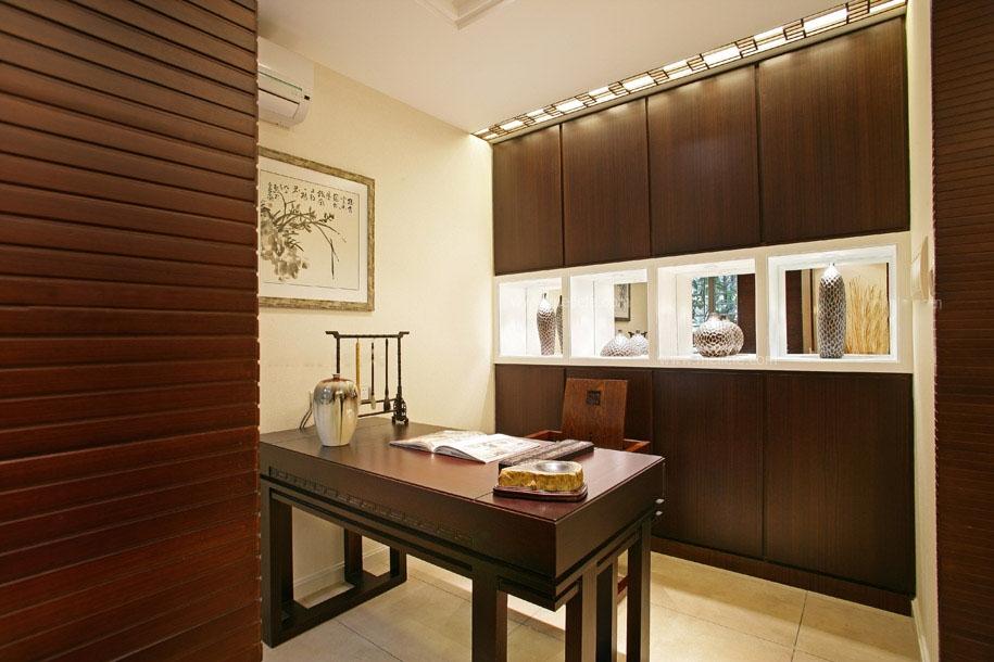 三室两厅中式风格书房