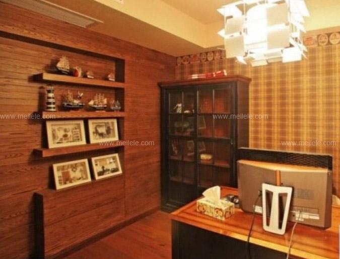 复式楼美式风格书房