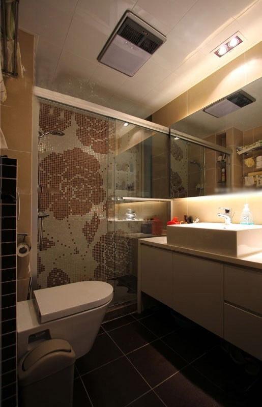 白领公寓北欧风格卫生间