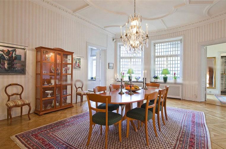 白领公寓北欧风格餐厅