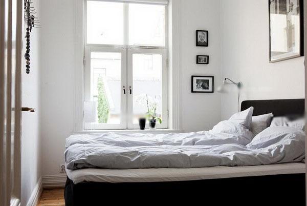 白领公寓北欧风格卧室
