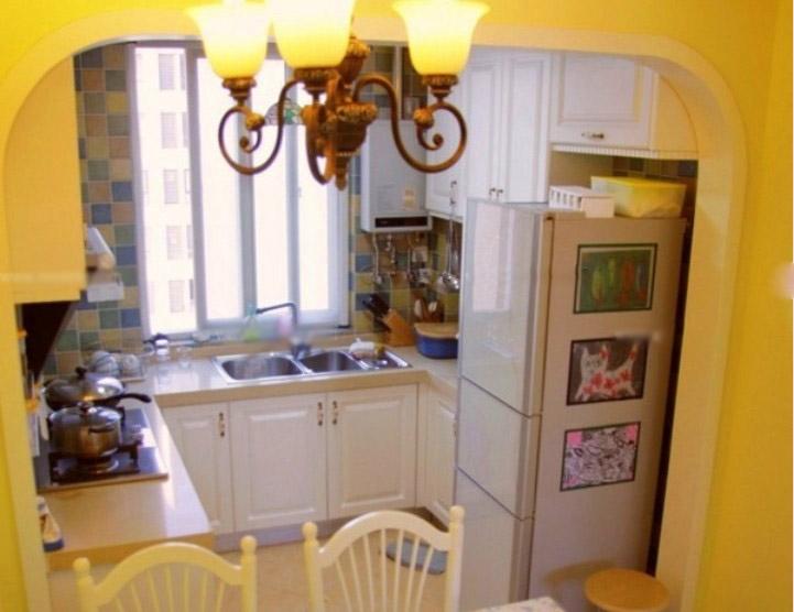 三室两厅田园风格厨房