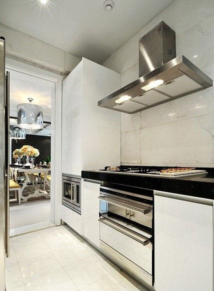 复式楼北欧风格厨房