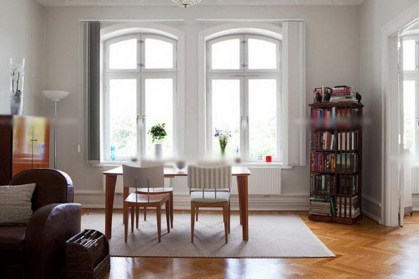 白领公寓北欧风格书房