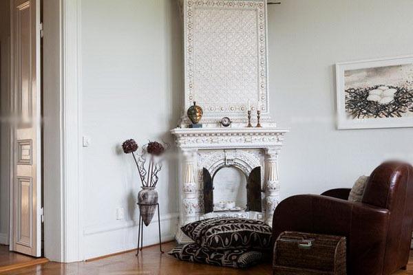白领公寓北欧风格客厅