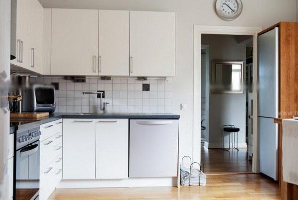 白领公寓北欧风格厨房